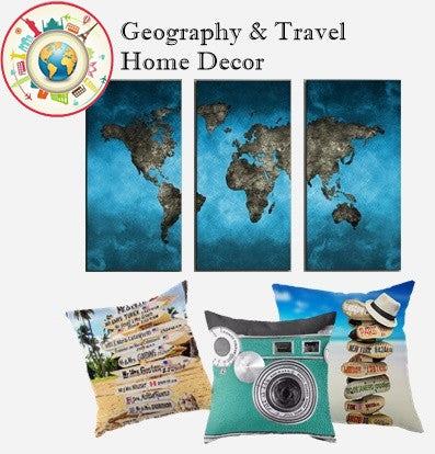 Travel Theme Home Decor