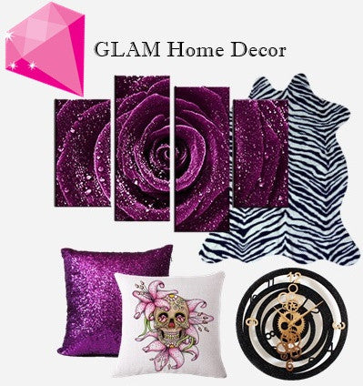 Rocker Glam Home Decor