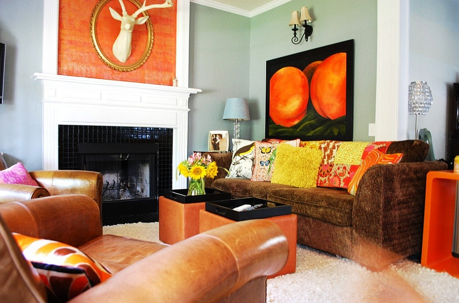 Decorating With Accent Colors Home Decor Accessories To Go With Your Wall Paint