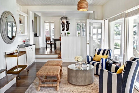 nautical living room design