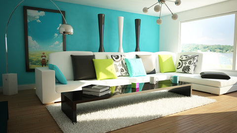 Lime Green Accent Decor For Teal Room Part 92