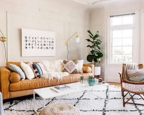 Home Decor Trend: A New Take on Leather and Linen