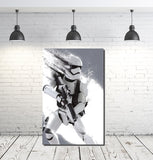 Stormtrooper Star Wars Movie Large Canvas Poster
