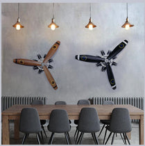 Airplane Propeller Wall Sculpture