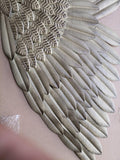 Angel Wings Wall Sculpture, Large