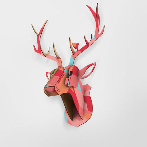 Artificial Deer Head Wall Decor 3D Puzzle