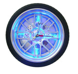 Automobile Tire Wall Clock, LED