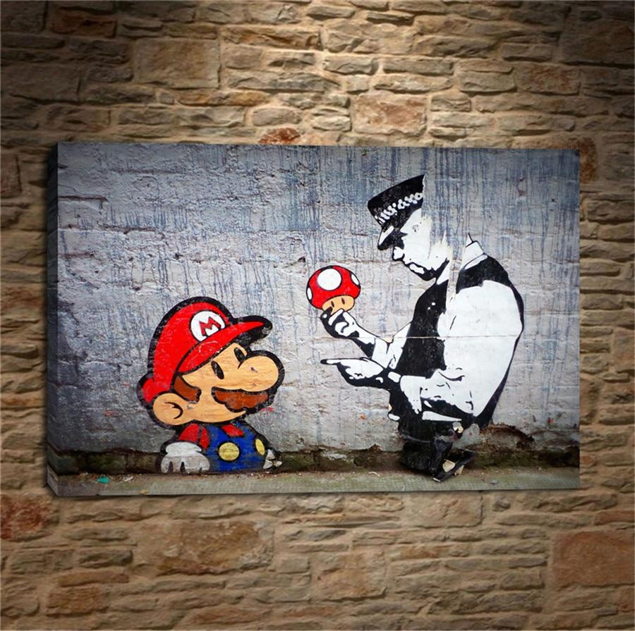 banksy graffiti art work for sale