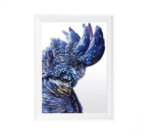 Blue Bird Nordic Canvas Art