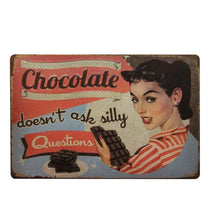 Cute Tin Signs for Cooks