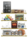 Coffee Menu Vintage Bar/Restaurant/Diner Sign, Pub Decoration
