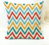 Colorful Modern Tribal Pattern Throw Cushion Cover