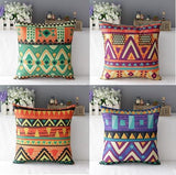 Colorful Tribal Pattern Accent Pillows
