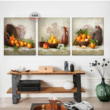 Oranges and Basket Kitchen Wall Art Set