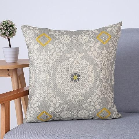Scandi Style Throw Pillows On Sale Find Combos That Go Together Custom Geometric Pattern Decorative Pillows