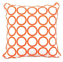 Decorative Throw Pillows Cover in Velvet Circular Pattern