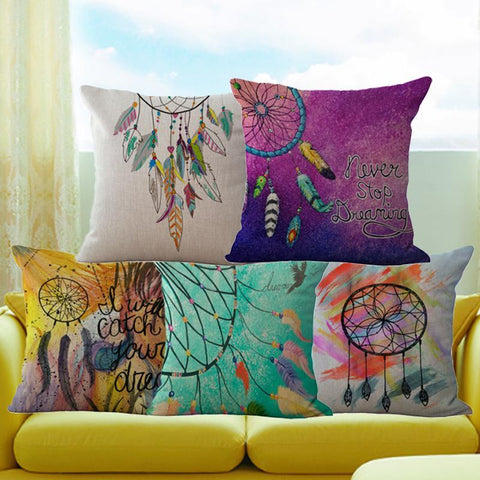 Dreamcatcher Throw Pillow Covers