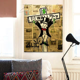 Exile on Wall Street Alec Monopoly Print