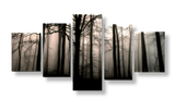 Forest Wall Art Set, Bedroom Wall Piece