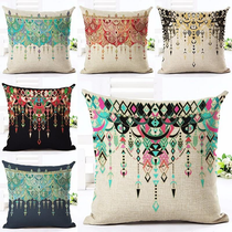 Glam Bollywood Boho Style Chandelier Throw Pillows