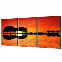 Guitar Illusion Modern Canvas Set