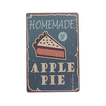 """Homemade Apple Pie"" Vintage Bar/Restaurant/Diner Sign, Pub Decoration"