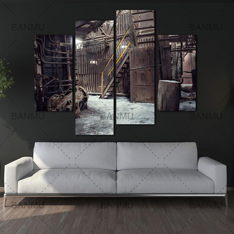 Industrial Theme Canvas Prints