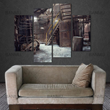 Industrial Wall Decor Abandoned Factory Artwork