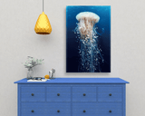 Jellyfish Ocean Artwork Canvas