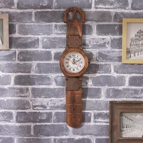 Jumbo Wrist Watch Wall Clock