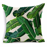 Jungle Bungalow Style Throw Pillows
