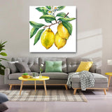 Lemon Tree, Large Yellow Kitchen, Dining Artwork, Framed or Unframed
