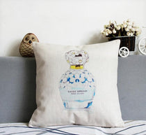 Marc Jacobs Daisy Perfume Home Decor Throw Pillows