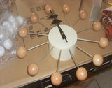 Multi Colored Balls Wall Clock
