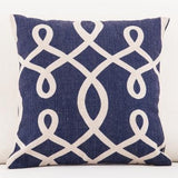 Nautical Anchor Patterned Accent Pillows