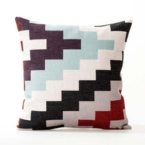 Nordic, Boho, Ethnic Style Accent Cushion Covers in Zig Zag Pattern