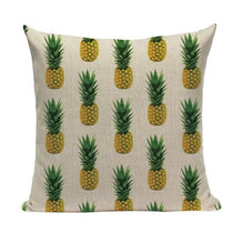 Pineapple Pattern Throw Pillow Cushion Covers