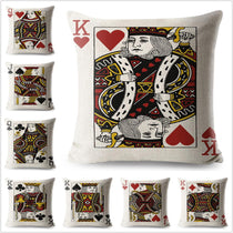 Playing Cards Throw Pillows