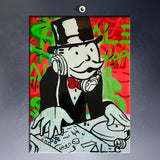 Alec Monopoly Music DJ POP ART