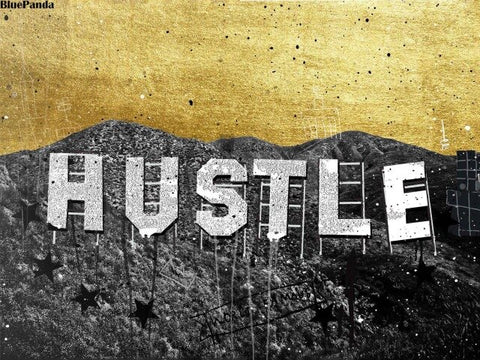 Hustle Wall Art, Mind of a Hustler Heart of a Queen Canvas Printf