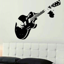 Guitar Music Wall Sticker