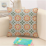 Medallion Geometric, Retro Pattern Throw Pillows