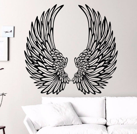Angel Wings Wall Decal, Large