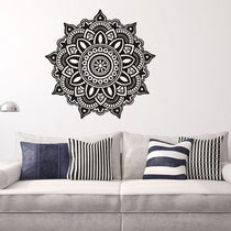 Large Mandala Flower Wall Decor Decal