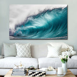 Blue Ocean Seascape Canvas Wall Art