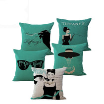 Breakfast at Tiffany's Audrey Hepburn Accent Pillows