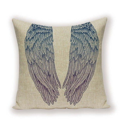 Angel Wings Accent Pillow