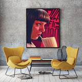 Pulp Fiction Movie Art Silk & Canvas Poster Print