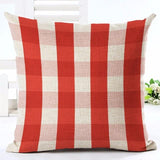 Red and White Polka Dots Throw Pillow