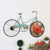 Retro Bicycle Beach Cruiser Wall Clock